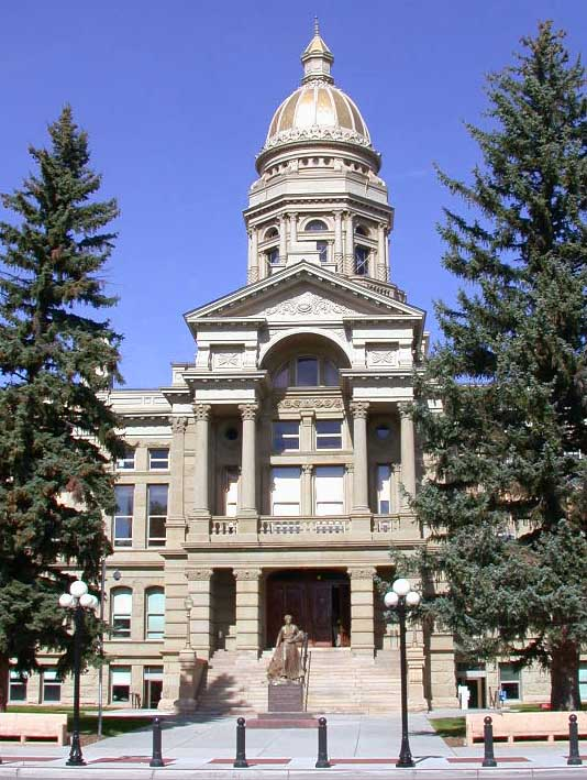 7. Wyoming State Capitol