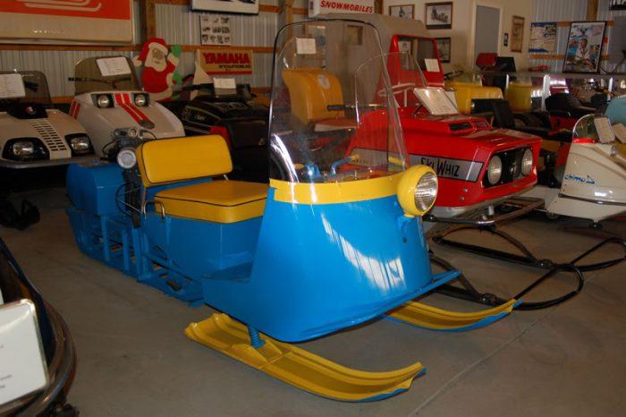 6. Snowmobile Barn Museum, Fredon
