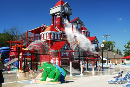 10. Deep River Waterpark - Crown Point