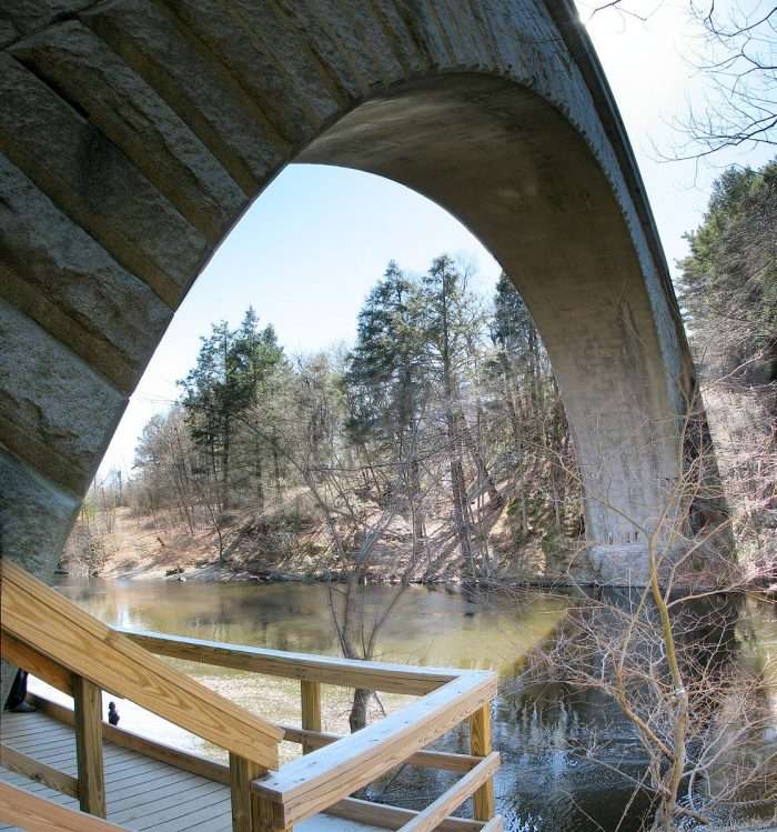 10. Echo Bridge, Newton