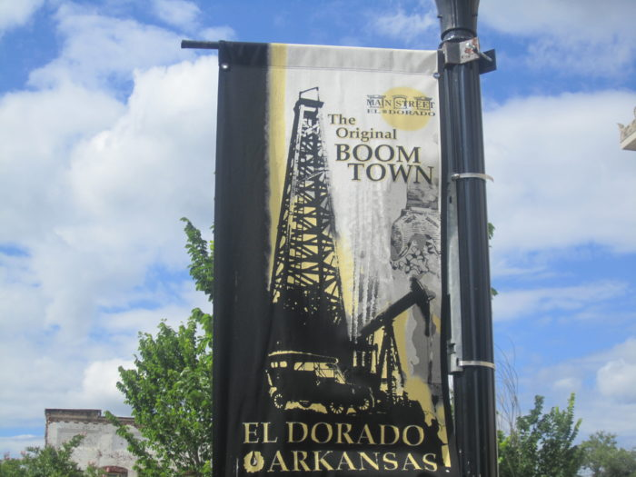 2. El Dorado was settled because a guy was stuck there and needed to sell his stuff.