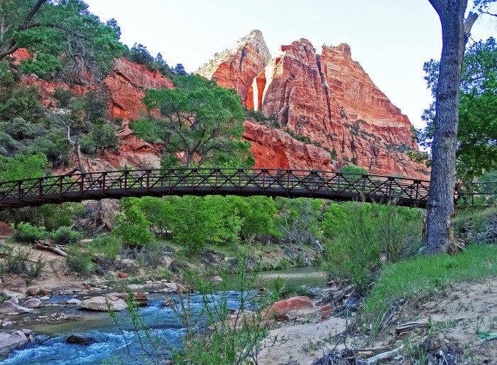 Utah: Lower Emerald Pools Trail, Zion National Park