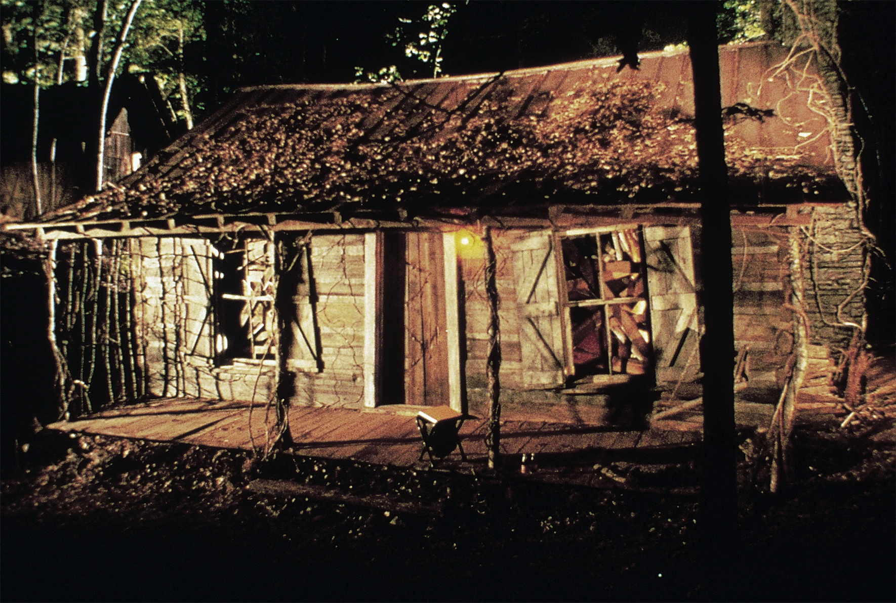 The Scary Evil Dead Cabin Is In The Tennessee Woods