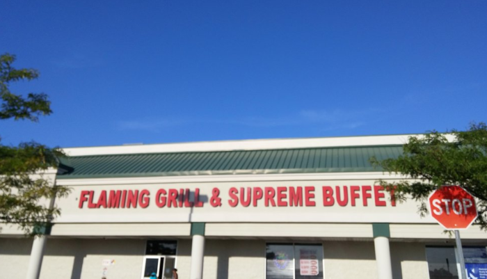 11. Flaming Grill Buffet, Manville