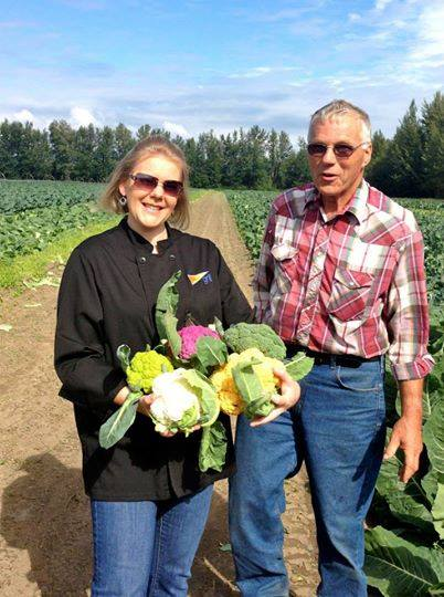 13. Buying produce without an 'Alaska Grown' label.