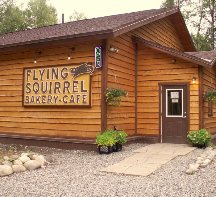 5. Flying Squirrel Bakery Cafe - Talkeetna