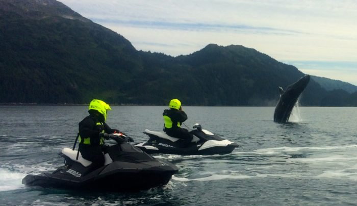 7. Go for an epic jet skiing tour.