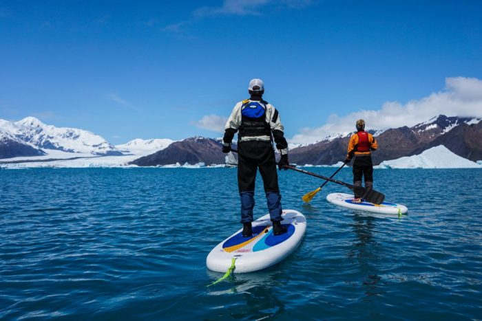 12. SUP! Go Stand Up Paddle-boarding.