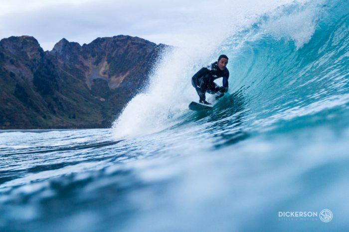 10. Get wet and wild in true Alaskan surfing fashion.