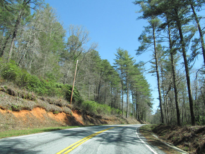 7. Falling Waters Scenic Highway (SC 107)