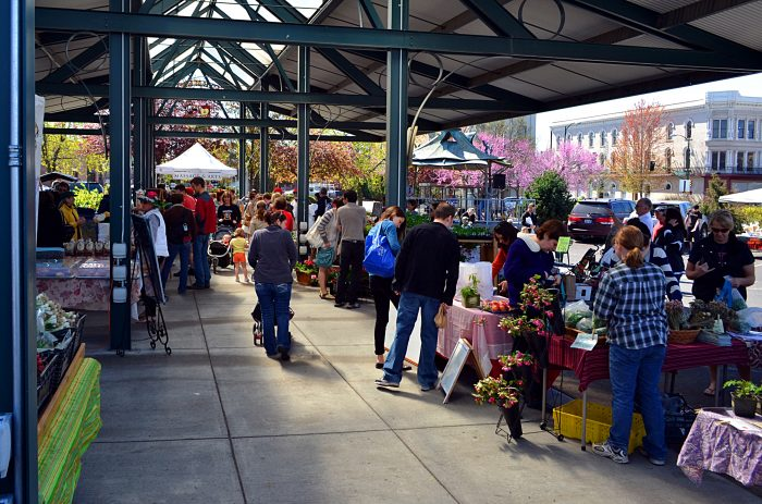 7. Shop at farmers markets when you can.