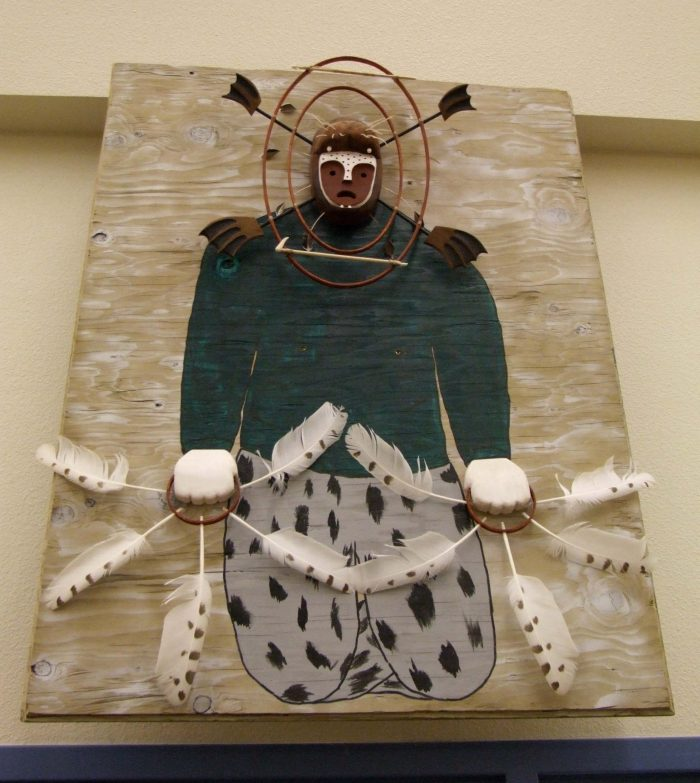 6. Handmade dance masks.