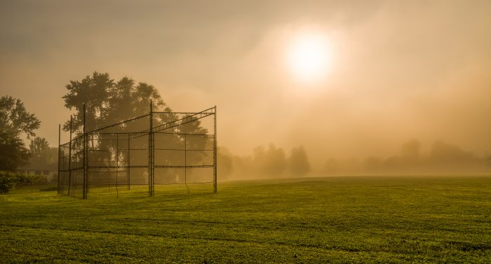 12. Rightfully titled Field Of Dreams, the morning fog across this Upstate city park is unbelievable.