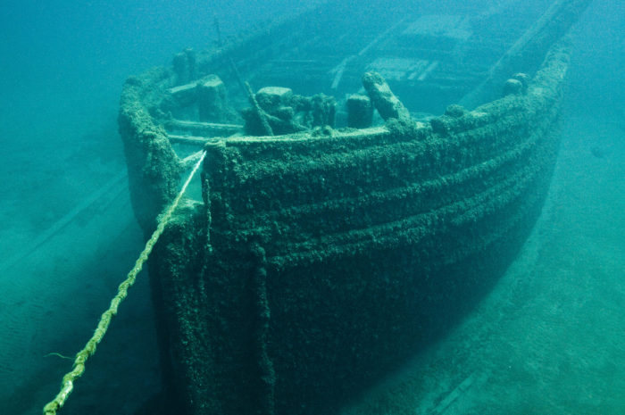 5. The shipwrecks illustrate a time of huge growth and remind us of the many risks taken to achieve that growth. The best part is that Lake Huron's fresh water helps keep these vessels incredibly preserved.