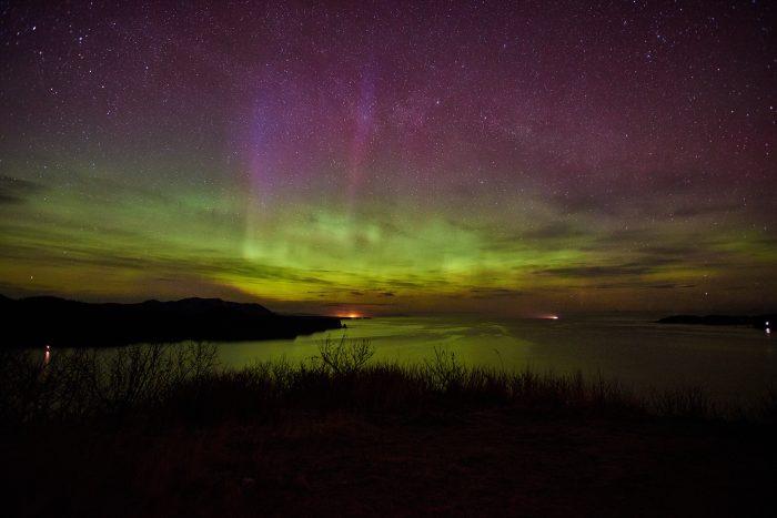 2. Kodiak Island and the Northern Lights
