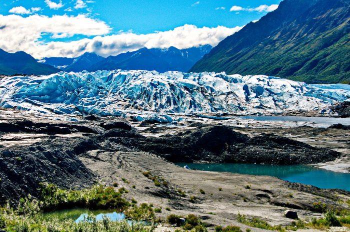 7. Glacier gazing.