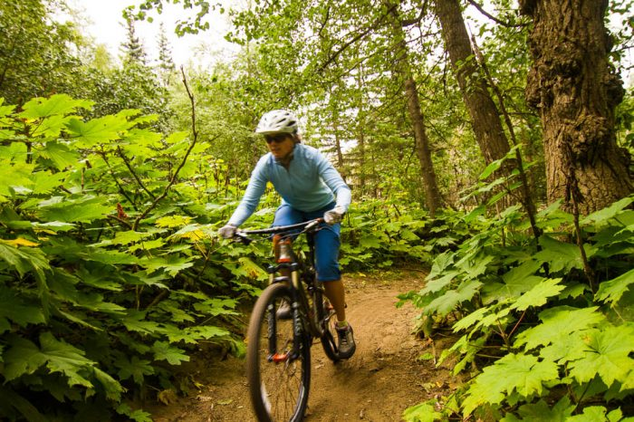 10. Find a trail and get your mountain biking game on.