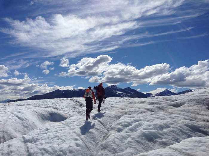 8. Go hiking and let the cool glacial air cool you off.