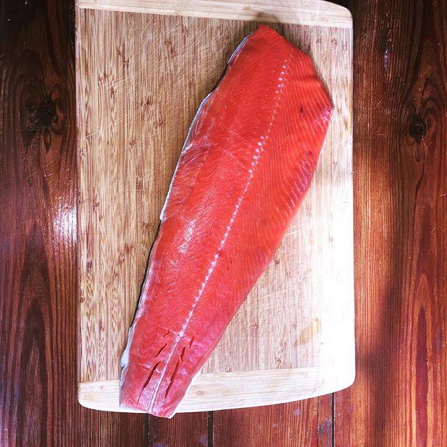 1. Farmed seafood.