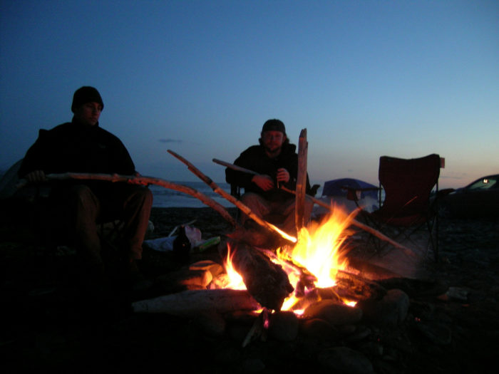 5. Always made a point to have quality time around the campfire.