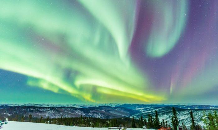 6. The Aurora Borealis.