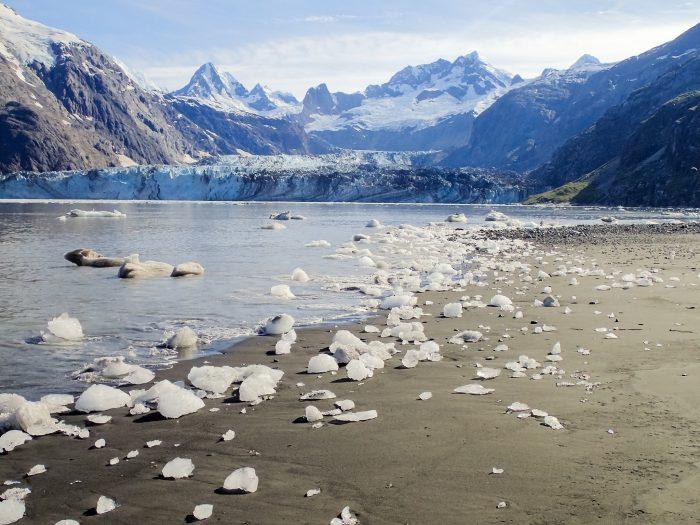 3. Black Sand Beach – Glacier Bay National Park