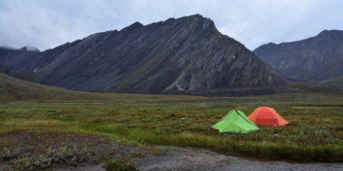14. Camping.