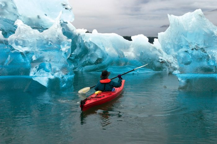 8. You will never look at kayaking the same after doing it in Alaska.