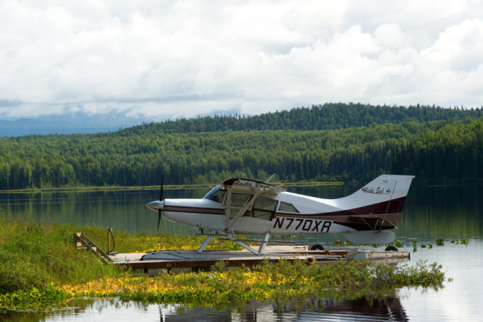 16. Bush planes are daily commuters for many in Alaska.