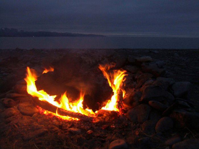 15. Campfires.