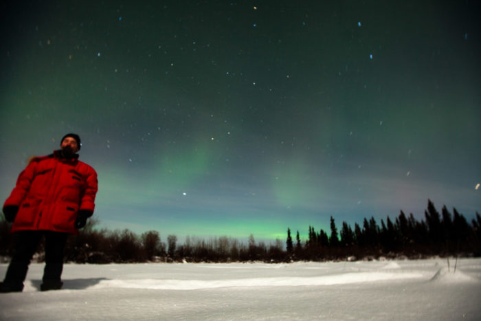 19. Staying inside when the Northern Lights are dancing.