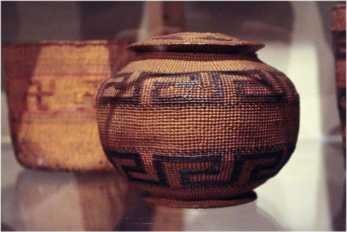 10. Basket weaving.