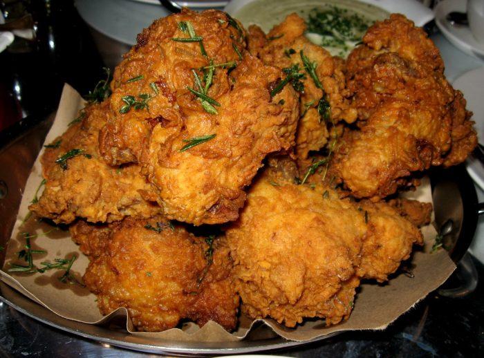 2. Fried chicken