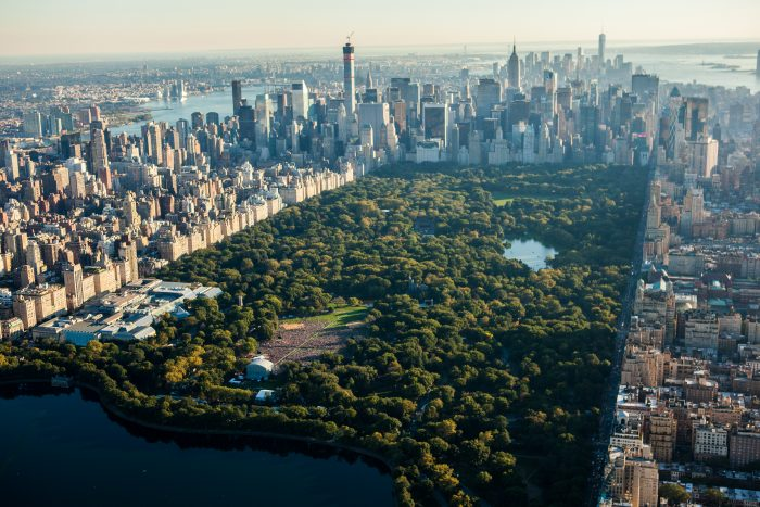 1. Central Park was the first landscaped public park to be created in America!