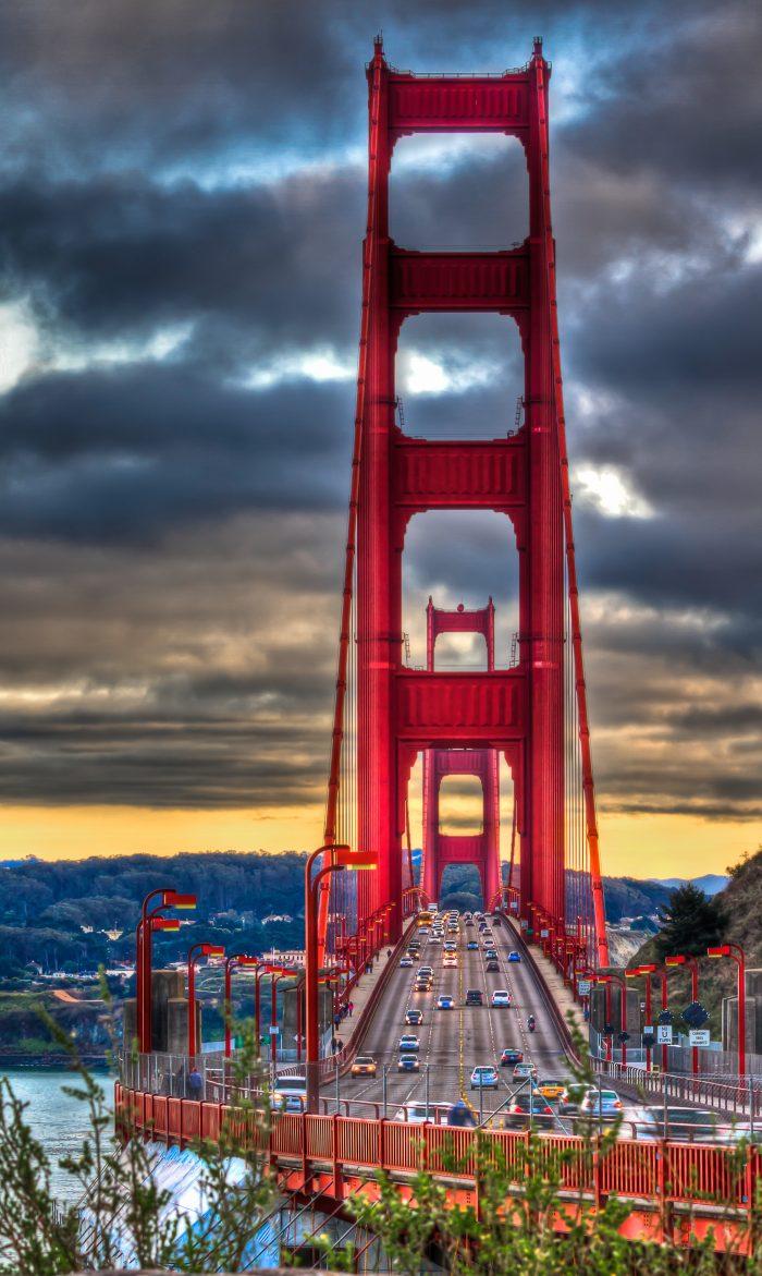 11. The Golden Gate Bridge and Bay Bridge will always amaze no matter how long you've been living here.