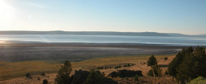 4. Goose Lake, Modoc County