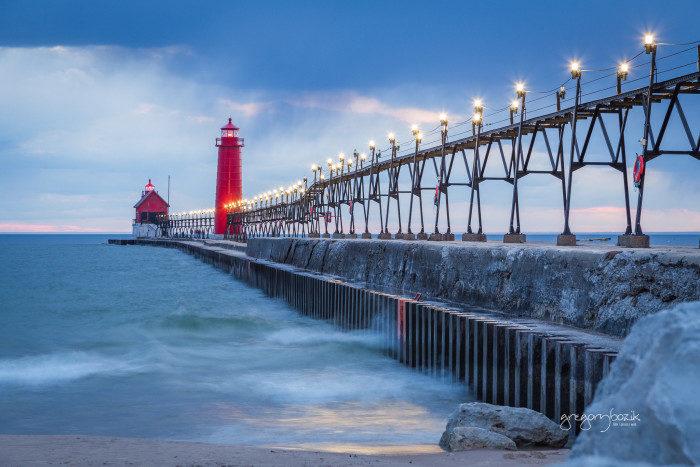 Michigan: Grand Haven Waterfront Trail