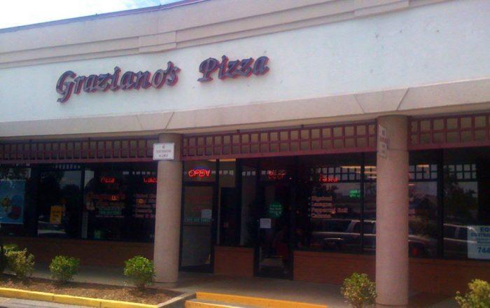 5. Graziano's Pizza, 12 River Walk Mall, South Charleston