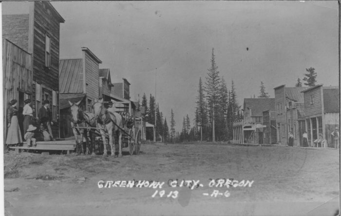 2. A ghost town called Greenhorn once had their jail stolen.