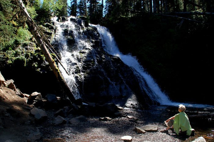 12. Grotto Falls, near Bozeman