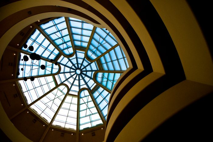 2. Looking like something out of a movie, the architectural brilliance that is the Solomon R. Guggenheim Museum will leave you speechless.