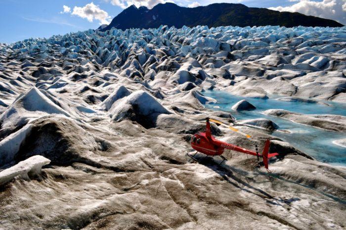 12. Glacier Landing Helicopter Pilot