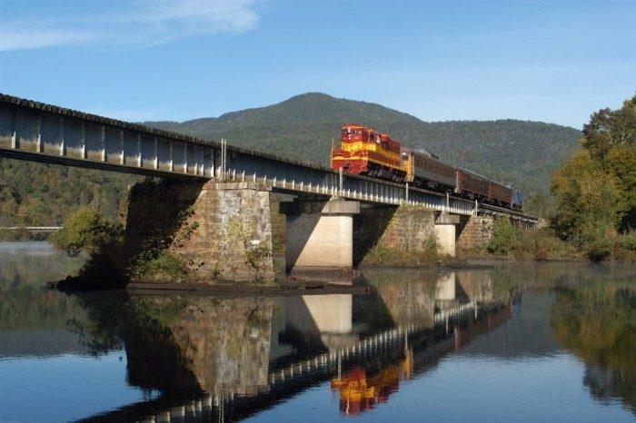 14. Hiwassee River Rail Adventure, Tennessee