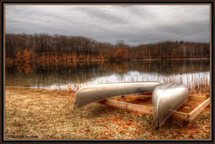 5. Canoeing at Holly Recreation Area