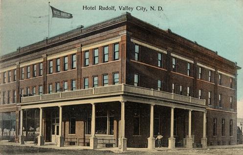 7. Hotel Rudolf, now Rudolf Square Apartments, Valley City