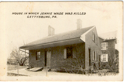 1. The Jenny Wade House in Gettysburg, which was peppered with Confederate bullets.