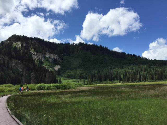 5. Explore the Silver Lake Loop Trail.