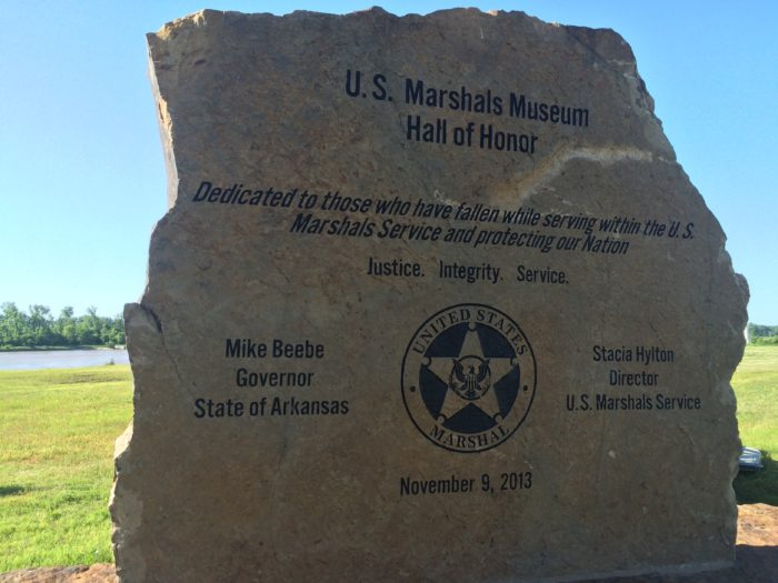 6. In 2013, Governor Beebe's name was misspelled on the original Marshal's Museum Hall of Honor cornerstone in Fort Smith.