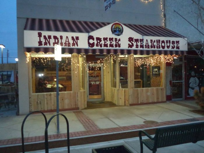 8. Indian Creek Steakhouse, Caldwell