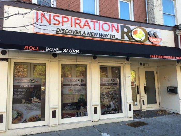 1. Inspiration Roll, Morristown